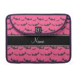 Palos rosados conocidos personalizados del brillo funda para macbooks