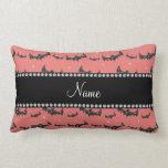 Palos rosados coralinos conocidos personalizados d almohada