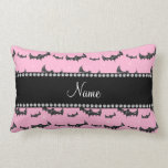 Palos rosas claros conocidos personalizados del br almohadas