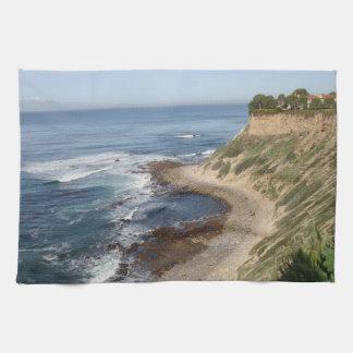 Palos Verdes, California Hand Towel