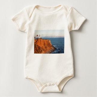 Palos Verdes Lighthouse Baby Bodysuit