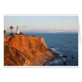 Palos Verdes Lighthouse Card