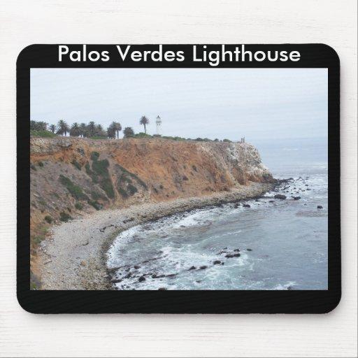Palos Verdes Lighthouse Mouse Pads