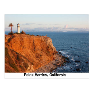 Palos Verdes Lighthouse Postcard