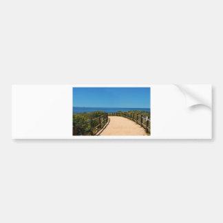 Palos Verdes Path Bumper Sticker