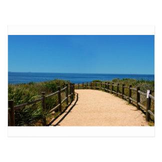 Palos Verdes Path Postcard