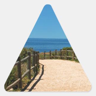 Palos Verdes Path Triangle Sticker