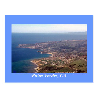 Palos Verdes Peninsula,CA Postcard