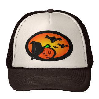 Palos y logotipo de semitono anaranjado de Jack de Gorros