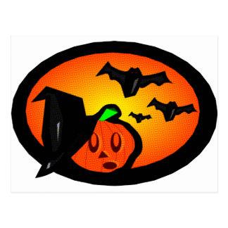 Palos y logotipo de semitono anaranjado de Jack de Postal