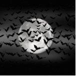 Palos y una Luna Llena Fotoescultura Vertical