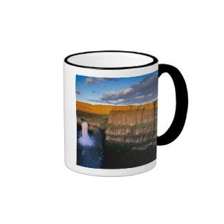 Palouse Falls in Washington Ringer Mug