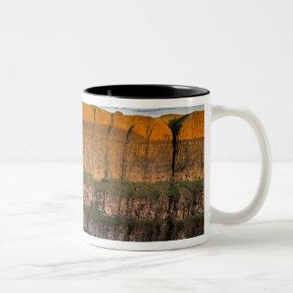 Palouse Falls in Washington Two-Tone Coffee Mug