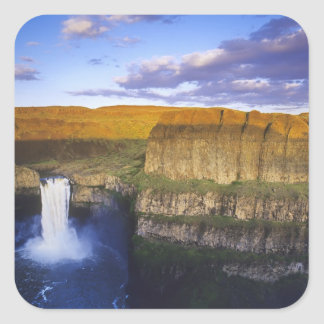 Palouse Falls State Park in Washington Square Sticker