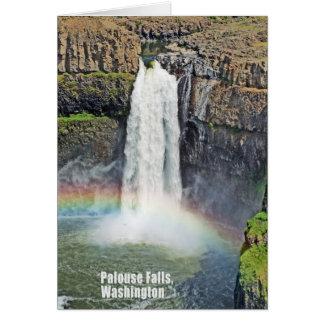 Palouse Falls State Park, Washington Card