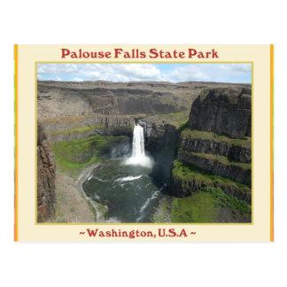 PALOUSE FALLS STATE PARK WATERFALLS OF WASHINGTON POSTCARD