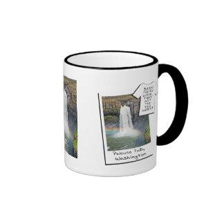 Palouse Falls, WASHINGTON - Been There, Got Tee Ringer Mug