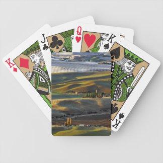 Palouse Sunrise Bicycle Playing Cards