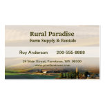 Palouse Sunrise Double-Sided Standard Business Cards (Pack Of 100)