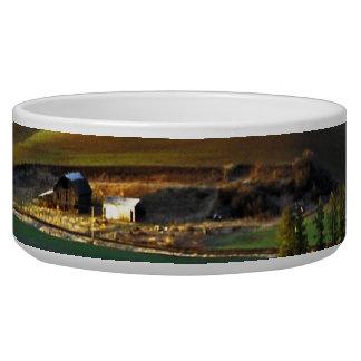Palouse Sunrise Pet Food Bowls