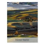 Palouse Sunrise Post Cards