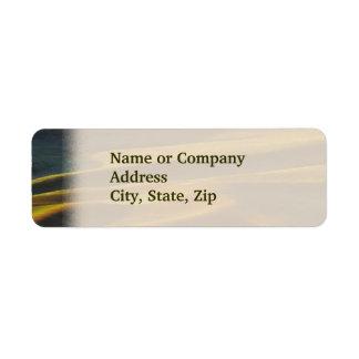 Palouse Sunrise Return Address Label