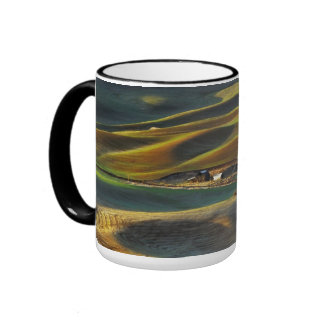 Palouse Sunrise Ringer Coffee Mug