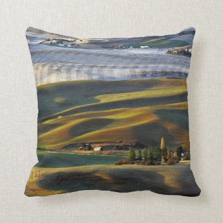 Palouse Sunrise Throw Pillow