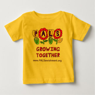 """PALS 2013 Baby Shirt """"Growing Together"""""""