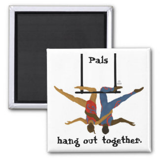 Pals 2 Inch Square Magnet
