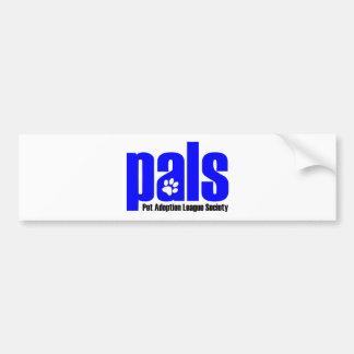 pals-azul pegatina para auto