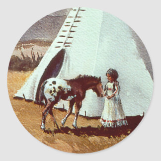 PALS by SHARON SHARPE Classic Round Sticker