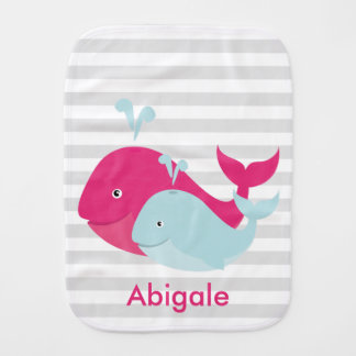 Pals de la ballena paños de bebé