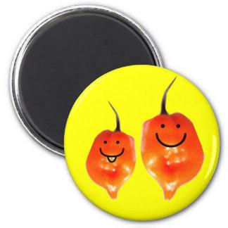 Pals de la pimienta imán redondo 5 cm