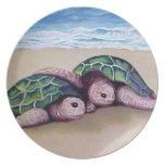 Pals de la tortuga plato