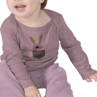 PALS DEL BOLSILLO Conejo de conejito 1 Camiseta
