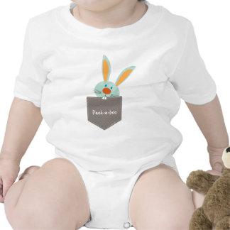 PALS DEL BOLSILLO:: Conejo de conejito 2 Traje De Bebé