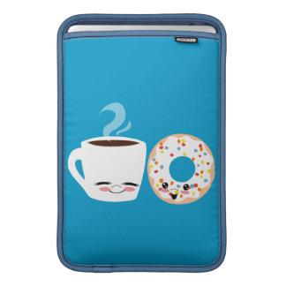 Pals del café y del buñuelo fundas para macbook air