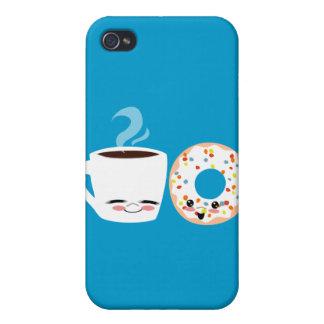 Pals del café y del buñuelo iPhone 4 protector