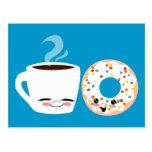 Pals del café y del buñuelo tarjetas postales