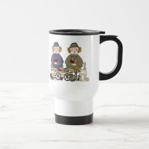 Pals del jardín taza de café