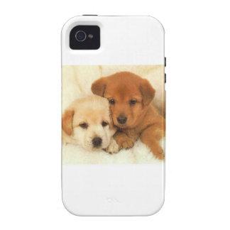 Pals del perrito iPhone 4/4S carcasas