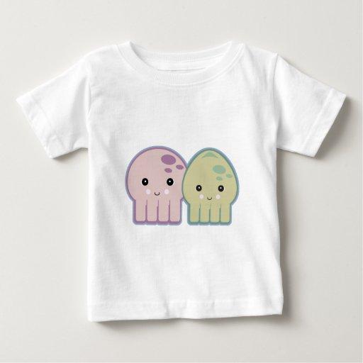 pals del pulpo y del calamar playera
