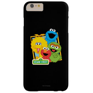 Pals del Sesame Street Funda Barely There iPhone 6 Plus