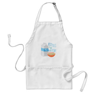 Pals In Bowl Adult Apron
