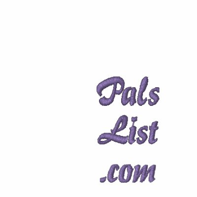 PalsList.com Embroidered Shirt