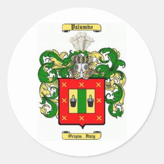 Palumbo Pegatina Redonda