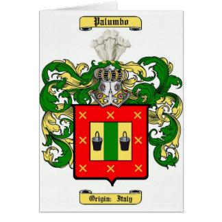 Palumbo Tarjeta De Felicitación