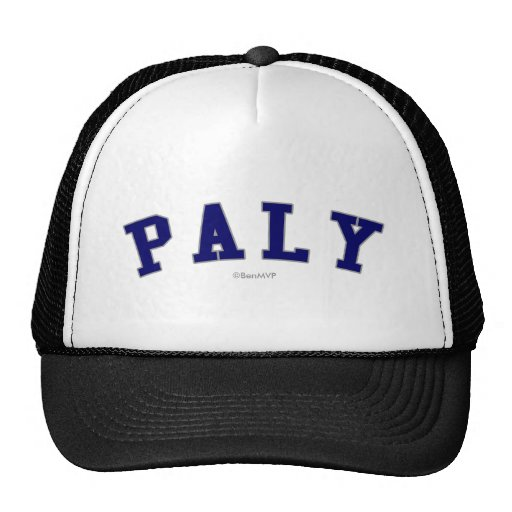 Paly Trucker Hat