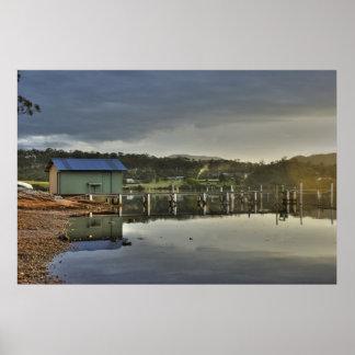 Pambula Lake NSW Australia Print